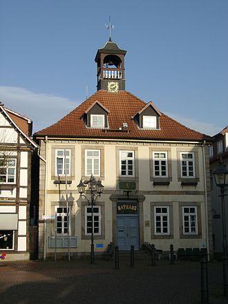 Bad Münder - Image: Altes Rathaus Bad Muender