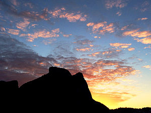 Pedra da Gávea - Stone of Gávea at dawn