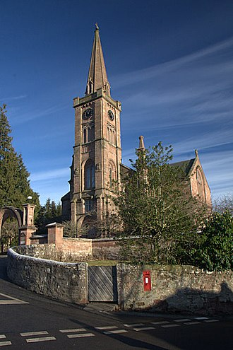 Alyth - Image: Alyth parish church geograph.org.uk 1104603