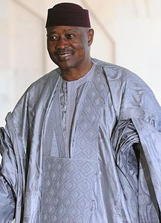 Amadou Toumani Touré Malian soldier and politician