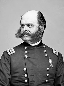 Ambrose Burnside, ca. 1860