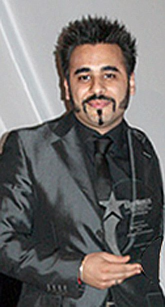 Ameet Chana - British Indian actor, Ameet Chana (left) receiving the Asian Woman Award for Excellence in entertainment