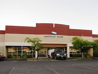 American Blimp Corporation - Corporate headquarters in Hillsboro, Oregon