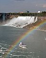 American Falls with rainbow and the Maid of the Mist.jpg