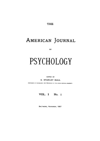 journal of psychology Journal of positive psychology & wellbeing (jppw) is a peer-reviewed academic journal covering positive psychology, and provides an interdisciplinary and.