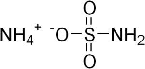 Ammonium sulfamate - Image: Ammonium sulfamate