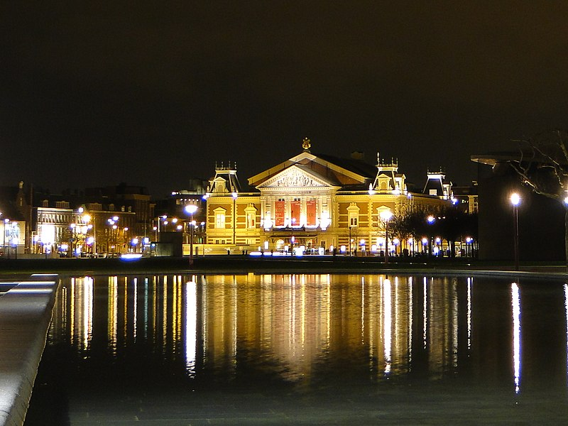Amsterdam - Nederland (Concertgebouw) - panoramio.jpg