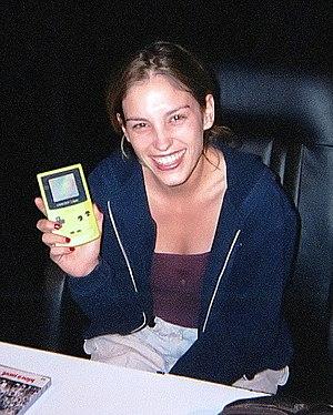 Amy Jo Johnson - Johnson in 2000