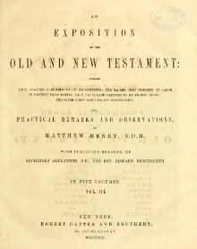 An Exposition of the Old and New Testament - vol 3.djvu
