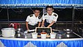 An International Food Festival organised as part of maiden trilateral exercise between Indian Navy Republic of Singapore Navy and Royal Thai Navy 3.jpg