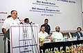 """Ananth Kumar addressing at the launch of the """"Cluster Development Programme for Pharma Sector"""", in New Delhi. The Minister of State for Chemicals & Fertilizers, Shri Hansraj Gangaram Ahir and the Secretary.jpg"""