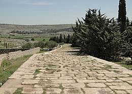 Ancient Roman road of Tall Aqibrin.jpg