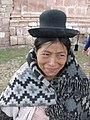 Andean woman in village between Cuzco and Puno Peru.jpg