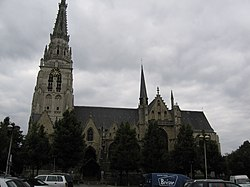 Anderlecht, Eglise Saints Pierre-et-Guidon.JPG