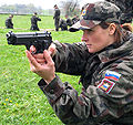 Andreja Mali in military uniform.jpg