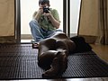 Andrew Semansco and model at work - nude photography in Bangkok.jpg