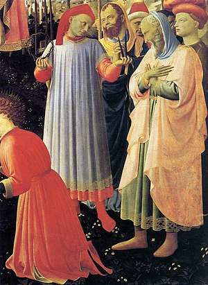 Palla Strozzi - Palla Strozzi (with nails) in the Deposition by Fra Angelico.