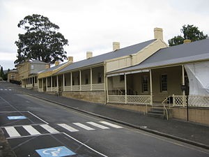 Anglesea Barracks - The Sergeants' Mess in 2010