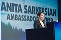 Anita Sarkeesian - Game Developers Choice Awards 2014 (2).jpg