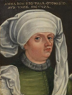 Anne of Bohemia, Duchess of Austria - Anne of Bohemia by Anton Boys