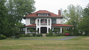 National Register of Historic Places listings in Jennings County, Indiana - Image: Annadale in North Vernon