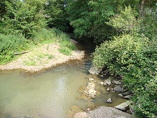 Léez river in France