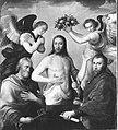 Anthonis Mor van Dashorst (Kopie nach) - Christus zwischen den hll. Petrus und Paulus - 6356 - Bavarian State Painting Collections.jpg