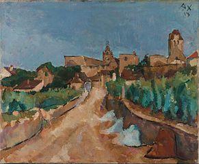 Street towards Dürnstein