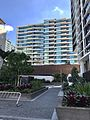Apartment buildings in Portside Wharf, Brisbane 2017.jpg