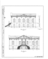 Appellate Court Building, Fourteenth and Main Streets, Mount Vernon, Jefferson County, IL HABS ILL,41-MOVER,1- (sheet 1 of 4).png