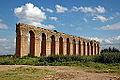 Aqueduc de Zaghouan, arches au sud de La Mohamedia.JPG