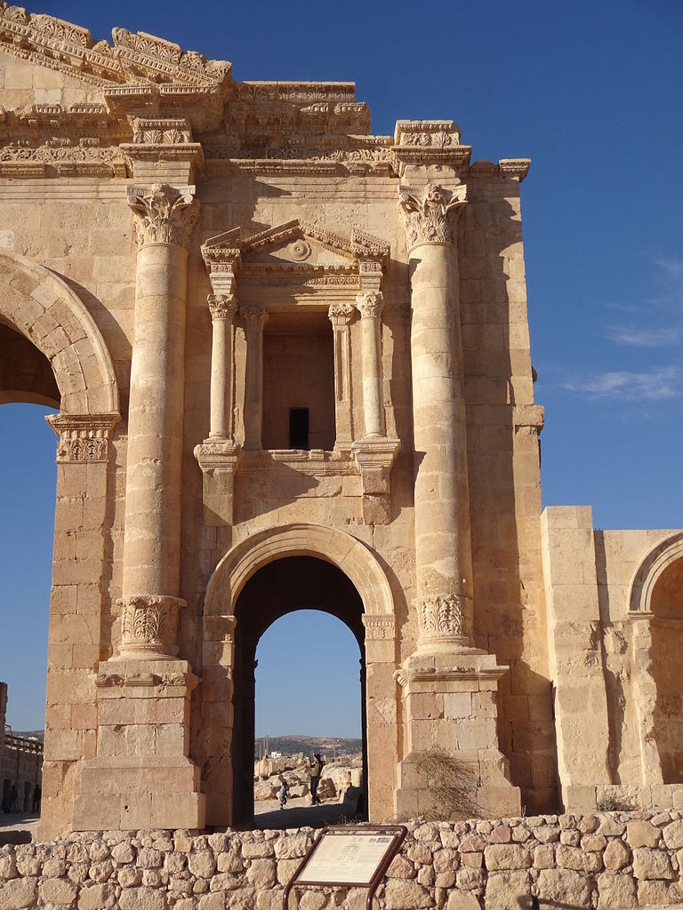 File:Arch of Hadrian. Jerash, Jordan 28.JPG - Wikimedia ...