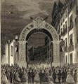 Arco da Companhia do Gás, na rua da Boa-Vista, em homenagem ao casamento de D. Luís e D. Maria Pia, 1862.png
