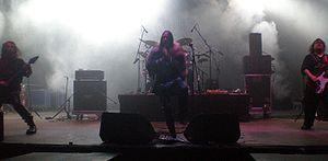 Arkona (band) - Image: Arkona live @ Crana Historica 2010