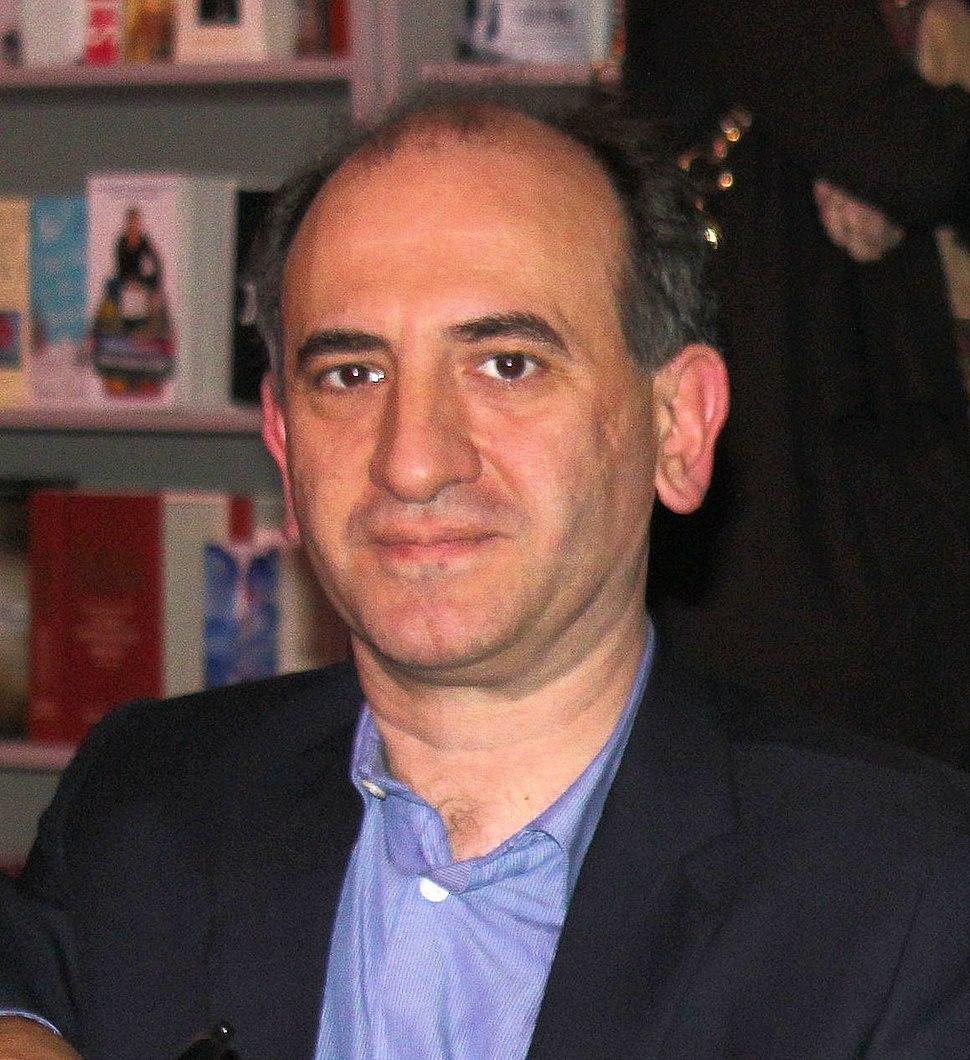 Armando Iannucci at Cheltenham Literary Festival 2010 (tighter crop)