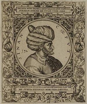 Sinan Reis - Engraving of Sinan Reis