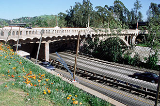 Arroyo Seco Parkway - The Avenue 26 Bridge