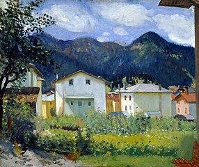 Häuser in Auronzo