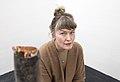 Artist Nina Canell in Kiasma.jpg