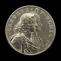 Arvid Karlsteen, Charles XI, 1655-1697, King of Sweden 1660, and Ulrica Leonora of Denmark, d. 1693, Queen of Sweden 1680 (obverse), 1680, NGA 117633.jpg