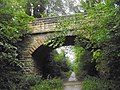 Ashdale Lane footbridge over the Harland Way between Wetherby, West Yorkshire and Spofforth, North Yorkshire (28th July 2018) 002.jpg