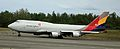 Asiana Airlines 747 Freighter taxiing at ANC (6310587393).jpg