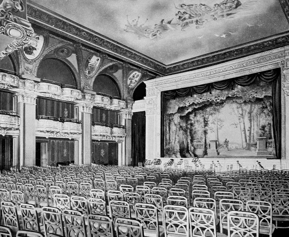 Astoria main ballroom as theater