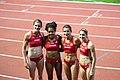 Athletissima 2012 - relais 4x100m F Suisse.jpg