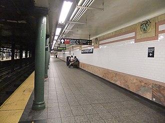 Atlantic Avenue–Barclays Center (New York City Subway) - Southbound local platform