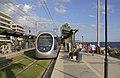 Attica 06-13 Paleo Faliro 03 tram at Flisvos.jpg