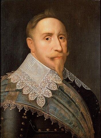 Portrait of Gustavus Adolphus of Sweden