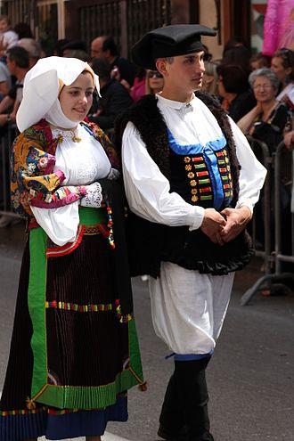 Atzara - Folk costumes from Atzara