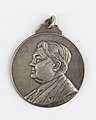 Au Docteur Georges Deprez, medal by Pierre Theunis, Belgium, (1936), Coins and Medals Department of the Royal Library of Belgium, 2N141 - 1 (recto).jpg
