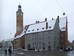 Augsburg Bei der Jakobskirche 2½ 02